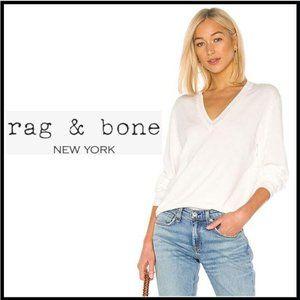 NWT RAG & BONE Kento V Neck Sweater Size Medium